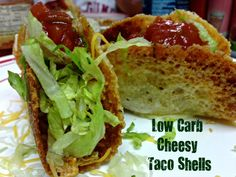 This is such a great idea! | Low Carb Cheesy Taco Shells