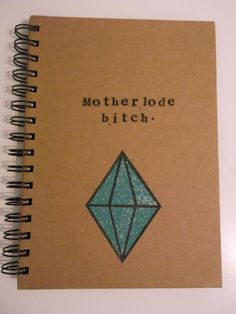 "The Sims fans will definitely get the joke behind this notebook ($6.22). | 21 Gifts For The ""Sims"" Addict In Your Life"