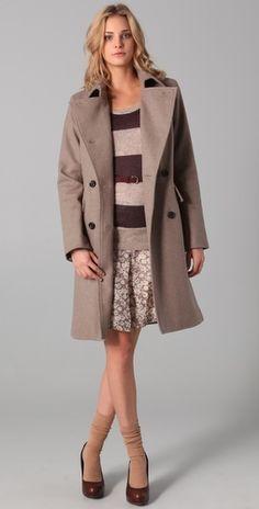 Audrey coat, Club Monaco