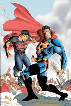 superman & superboy