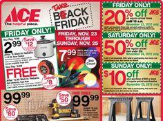 6e8f177c3243 Ace Hardware #BlackFriday Ad 2012 Brad's Deals, Printable Coupons, Free  Printable, Printables
