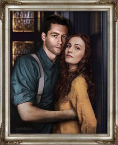 Brianna & Roger – Outlander ... Sophie Skelton and Richard Rankin