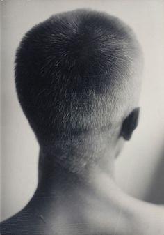 Hazel Larsen Archer, Ray Johnson (back of head), ca. 1947–48