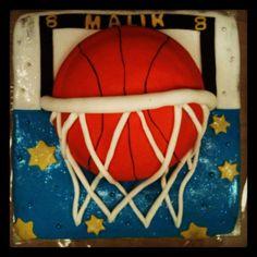 Malik 8 jaar Basketbal