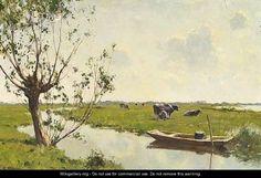 Milking Time - Gerard Altmann 1877-1940.