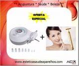 Aparelho Peeling de Diamante (X106) + Massageador Facial Lifting de Ouro