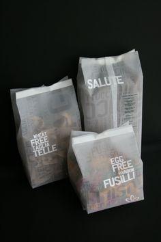 packaging / wellness warehouse pasta