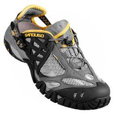 792d4869dcd Helikon in Gray Yellow. Sandugo Sandals
