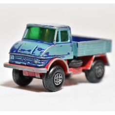 Unimog Matchbox series by Lesney 1970 Superfast number 49 Part of G-4 Truck Superset OC 12188