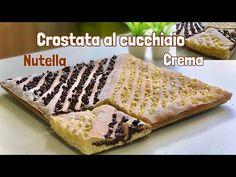 CROSTATA AL CUCCHIAO CREMA E NUTELLA ricetta facilissima Two-taste spoon tart - YouTube Sweets, Ethnic Recipes, Desserts, Youtube, Food, Biscotti, Tarts, Instagram, Cream