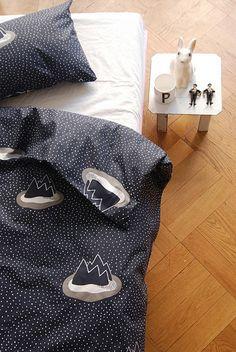 Islands bed linen by Paul+Paula, via Flickr