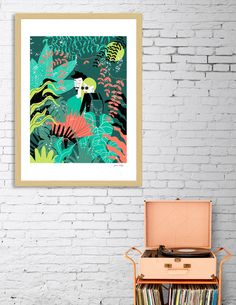 Discover «Jungle», Limited Edition Fine Art Print by Ivana Calija - From $29 - Curioos