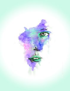 Face Splash by Wilson Ordonez, via Behance