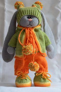 Tilda Bunny honey by MentalToys on Etsy