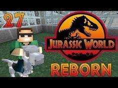 """DinoVillage and NPCs"" - Ep. 27 - Minecraft: Jurassic World Reborn - YouTube"