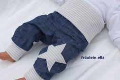 Jeans-Pumphose+in+Leinenoptik+von+fräulein+ella+auf+DaWanda.com