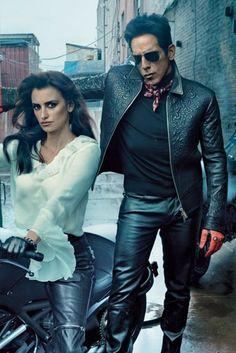 Derek Zoolander (a.k.a. Ben Stiller) Lands February Vogue Cover Alongside Penélope Cruz by Annie Leibovitz