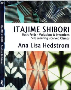 Our latest addition in the shop is Ana Lisa Hesdstrom's new Itajime DVD