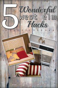Wonderful West Elm Hacks