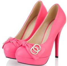 Womens Sexy Bowtie High Stiletto Heel Mary Janes Court Shoes