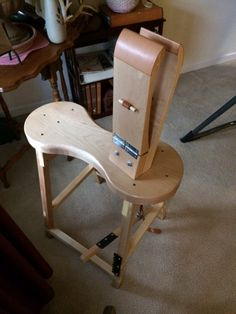 Harness Maker Stitching Horse