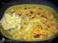 Mac and Cheese recept magyarné Fekete Veronika konyhájából - Receptneked. Cheeseburger Chowder, Kids Meals, Penne, Macaroni And Cheese, Noodles, Bacon, Cheddar, Cooking Recipes, Tasty
