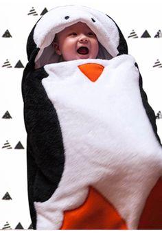Lucien, le nid d'ange pingouin www.lilibou.fr