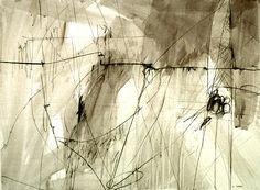 "Michele Hoben. ""interlude"", graphite (22"" x 30"")  via elemenop.tumblr.com  Artist's web site: michelehoben.com"