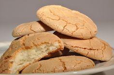 παστιτσάκια - pastitsakia, our almond macarons.  Looks like Italian amaretti?  Small world...  visit us at www.kallivroussis.gr, andros