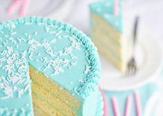 Classic Vanilla Birthday Cake via Sweetapolita