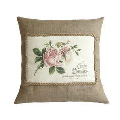 Rose French Style Cushion