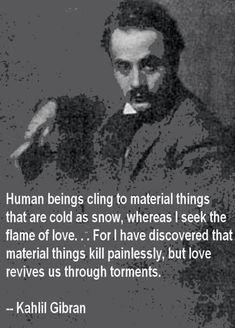 Khalil Gibran quotes