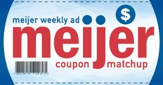 Meijer Weekly Ad Coupon Match Up (7/19-7/25)