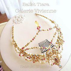 #tiara #ballettiara #ballet #balletheadpiece #headpiece #kawaii #beads #tokyo #wedding #weddingtiara