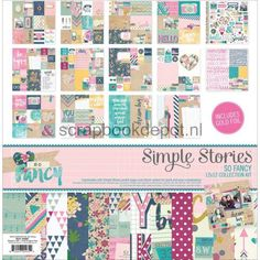 Simple Stories So Fancy - Collection Kit 12x12inch