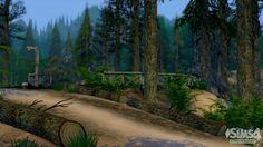 Sims 4   Granite Falls Textures Default Replacement #ConceptDesign97 outdoor plants GP01