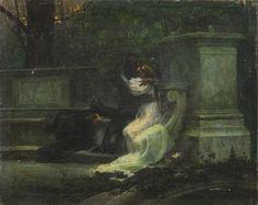 Lionello Balestrieri, (Italian, 1874-1958) - The Kiss