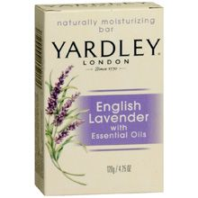My favorite soap, although I prefer the liquid kind.  Can't find it in any local stores so I order direct from Yardley.  You have to buy the pump separately!