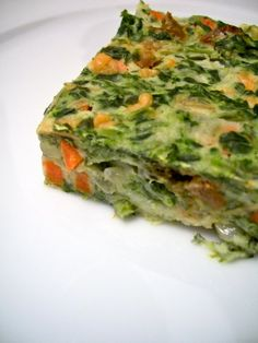 Healthy Spinach Quiche Well I told you guys I'll put here different recipes made of spinach and you'll have enough choice to choose what you want to cook for today.