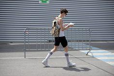 Street Style Moda Hombre Primavera Verano 2015 Street style de Milán Foto GettyImages