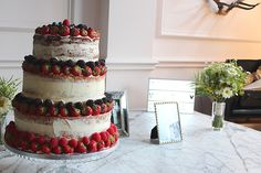 Wedding Layer Cake served at The Roost