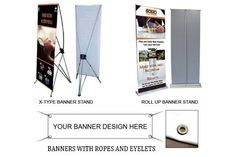 In creating impact on retail premises, exhibition stands or on any special event, the use of banners should never be overlooked. Eye catching banners may stimulate excitement from audience and eventually promote better brand awareness.  #PrintAds #Customized
