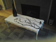 hand painted coffee table :)