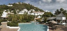 Windjammer Landing Villa Beach Resort pool and villa  view