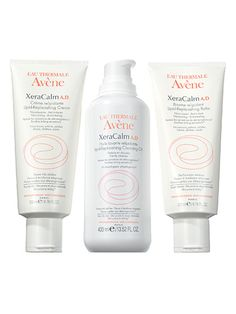 Beauty breakthroughs: Eau Thermale Avène XeraCalm A.D. Lipid (Replenishing Cream, Replenishing Cleansing Oil, and Replenishing Balm) calms catastrophically dry skin