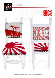 """Non poteva mancare il Giappone nel viaggio Immaginario di """"CASTèSTYLE Mobili d'Arte """" , intorno al mondo ."""