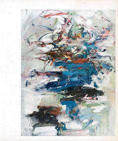 bluecote: joan mitchell art USA now, 1962