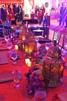Bitton Events DJing a Moroccan Style Party