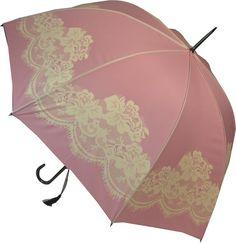 Roze kanten paraplu