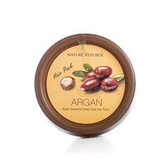 Amazon.com : Nature Republic Argan Essential Deep Care Hair Pack, 200 Gram : Beauty